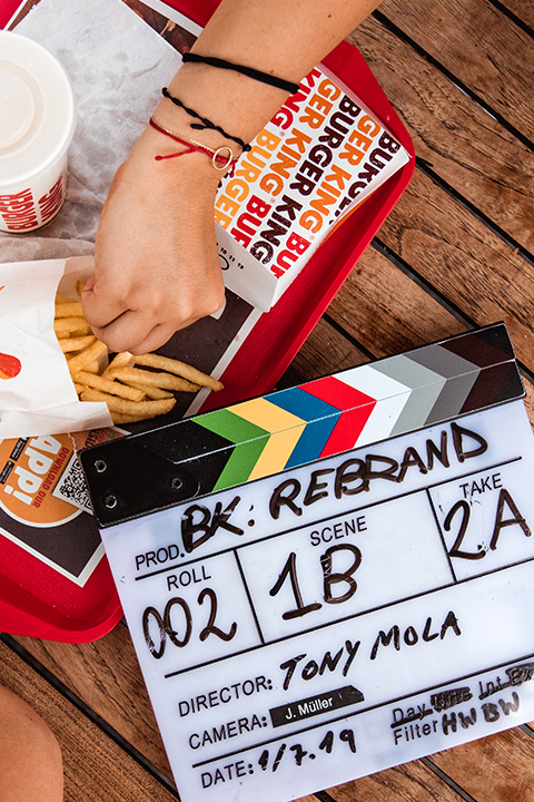 Burger King slate fries rembrand coke werbung commercial black frame studios video production service zurich